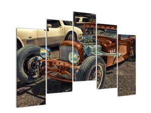 Obraz hnědého auta (V020538V12590)