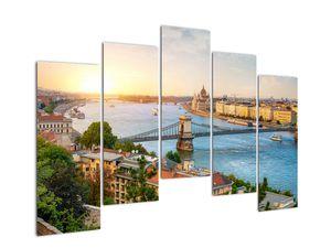 Obraz města Budapešť s řekou (V020712V12590)