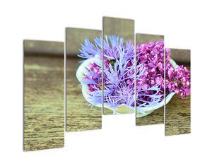 Obraz dekorace s levandulí (V020874V12590)