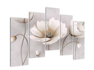 Obraz bílých květin (V020898V12590)