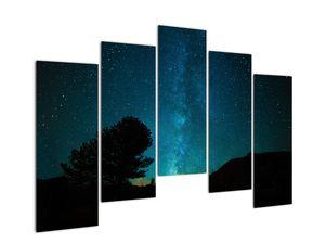 Obraz nočnej oblohy s hviezdami (V021100V12590)