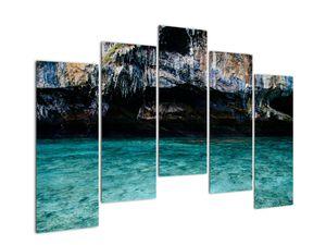 A víz és a sziklák képe (V021152V12590)
