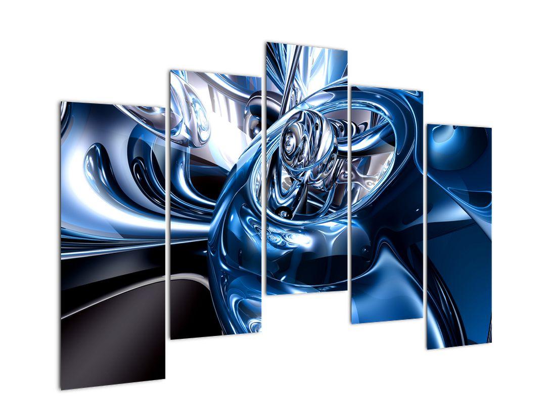 Obraz abstrake - kruhy (V021298V12590)