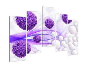 Obraz - Koule, kuličky, květy, ... (V021304V12590)