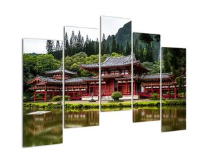Obraz - Budhistický kláštor (V021325V12590)