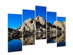 Obraz zrkadlenie skál (V021327V12590)