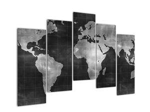 Obraz - Mapa světa (V021461V12590)