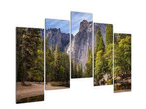 Kép - A Yosemite szikla alatt (V021691V12590)