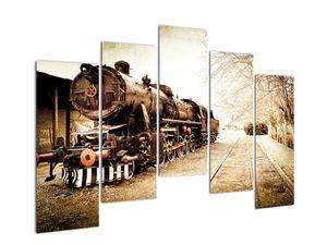 Slika - Povijesna lokomotiva (V021959V12590)