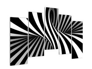 Absztrakt kép zebra csíkokkal (V021960V12590)