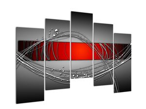 Abstraktionsbild (V022070V12590)