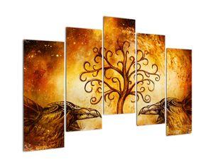 Naravna abstraktna slika drevesa (V022111V12590)