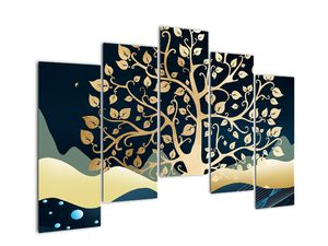 Slika zlatega drevesa (V022286V12590)