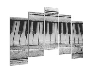Egy régi zongora képe (V022562V12590)
