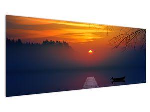 Híd képe naplementekor (V020012V14558)