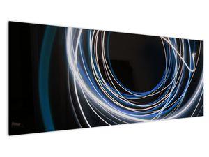 Tablou cu linii albastre (V020053V14558)