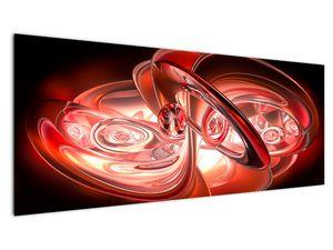 Obraz - červené tvary (V020064V14558)