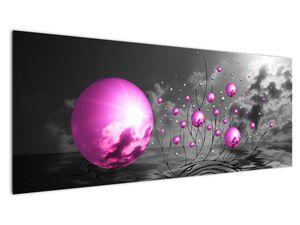 Obraz ružových gulí (V020108V14558)