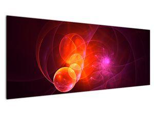 Moderní obraz růžové abstrakce (V020129V14558)