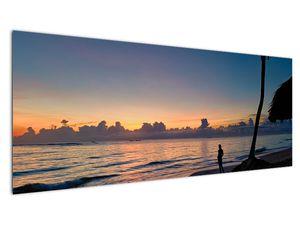 Kép egy nőről a tengerparton (V020204V14558)