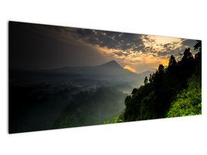 Obraz - zelená horská krajina (V020249V14558)