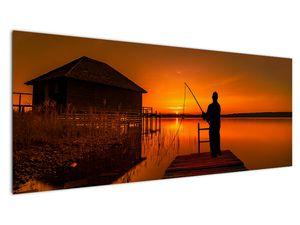 Tablou cu pescar (V020264V14558)