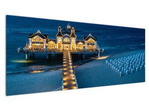 Tablou - hotel pe plajă (V020289V14558)