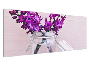 Obraz fialových květin (V020367V14558)