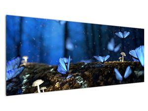 Obraz modrých motýlů (V020434V14558)