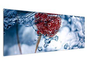 Kép - málna részlete a vízben (V020516V14558)