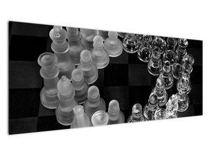 Obraz - černobílé šachy (V020598V14558)