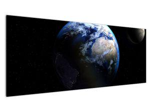Föld és a Hold képe (V020671V14558)