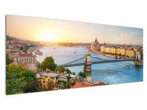 Obraz města Budapešť s řekou (V020712V14558)