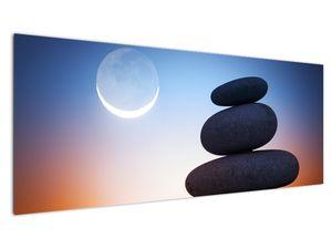 Obraz poskládaných kamenů na sobě (V020903V14558)