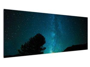 Obraz nočnej oblohy s hviezdami (V021100V14558)