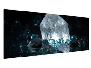 Schilderij - Kristal (V021107V14558)