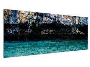 A víz és a sziklák képe (V021152V14558)
