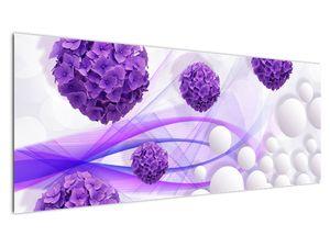 Obraz - Koule, kuličky, květy, ... (V021304V14558)