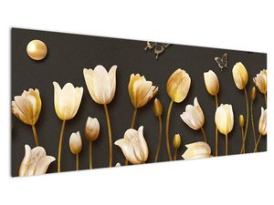 Obraz - Tulipány - abstraktné (V021347V14558)