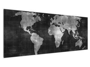 Obraz - Mapa světa (V021461V14558)