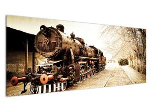 Slika - Povijesna lokomotiva (V021959V14558)