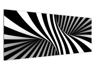 Absztrakt kép zebra csíkokkal (V021960V14558)