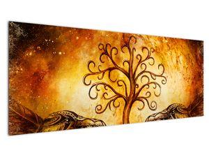 Naravna abstraktna slika drevesa (V022111V14558)