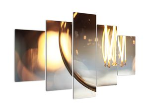 Obraz svítící žárovky (V020011V150105)