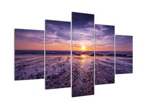 Tablou cu plaja - apus de soare (V020028V150105)