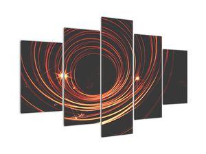 Obraz abstraktních linek (V020030V150105)