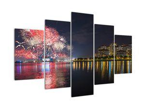 Tablou cu artificii in Singapur (V020035V150105)