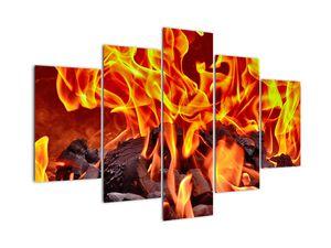 Obraz hořících uhlíků (V020049V150105)