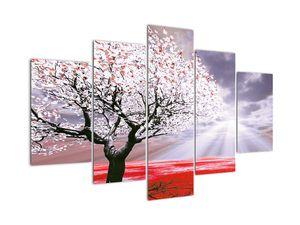 Červený obraz stromu (V020052V150105)