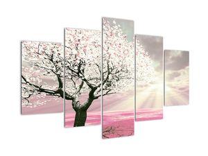 Ružový obraz stromu (V020058V150105)